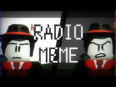 RADIO MEME (roblox animation meme/late 10k+ subs special) TW: Kinda Seizure