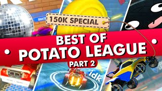 BEST OF POTATO LEAGUE #2 | TRY NOT TO LAUGH Rocket League MEMES and Funny Moments
