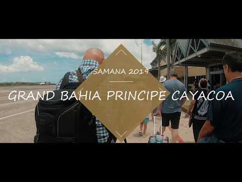Grand Bahia Principe Cayacoa  Samana 2019, Drone Anafi, Gopro Hero 7 Et  Lumix G85
