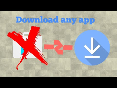 HOW TO DOWNLOAD ANY GAME OR APP WITHOUT PLAY STORE