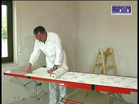 Fesselnd DIY   Tapezieren Leicht Gemacht   Schritt Für Schritt (2/4) Professionelle  Anleitung