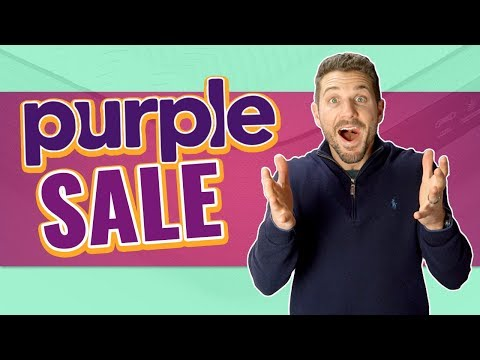 Purple Mattress Deal | Black Friday & Cyber Monday (2019)
