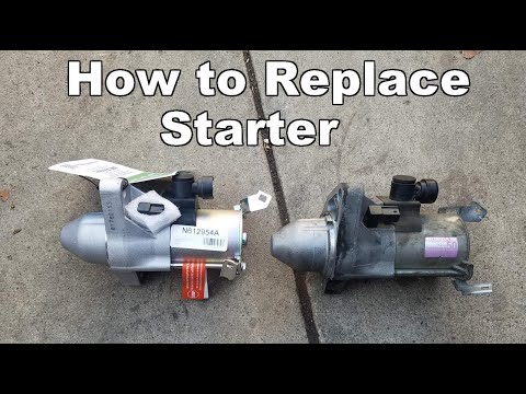 2006-2011 Honda Civic Starter Replacement