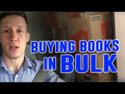 Buying Books In Bulk (logistics And How To Find Sources)