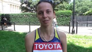 Інна Кашина - про виступ на чемпіонаті світу з легкої атлетики