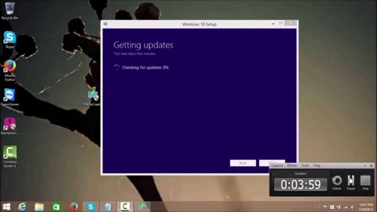 How To Upgrade Windows 8.1 To Windows 10  (MediaCreationTool)