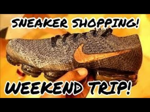 TRIP TO BOSTON / RHODE ISLAND SNEAKER SHOPPING!