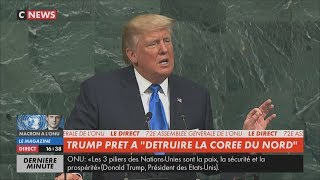 Trump à l'ONU : «Le socialisme sème angoisse, dévastation et échec» (CNEWS, 19/09/17, 16h34)