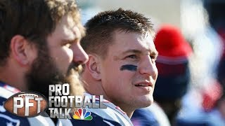 Rob Gronkowski's brother says Gronk is frustrated with Patriots I Pro Football Talk I NBC Sports