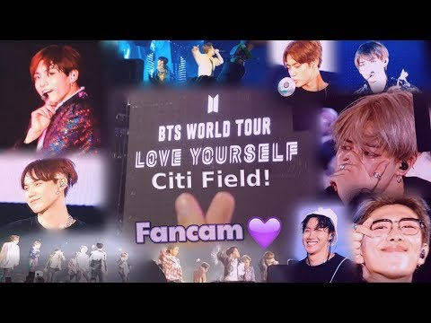 181006 BTS (방탄소년단) Love Yourself World Tour Citi Field, New York! (Fancam)