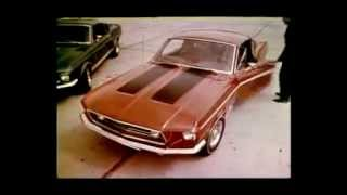 Ford Mustang Shelby GT 500 Commercial (1968)
