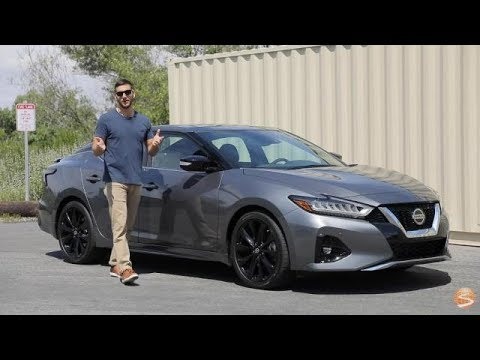 2019 Nissan Maxima SR First Drive Video Review