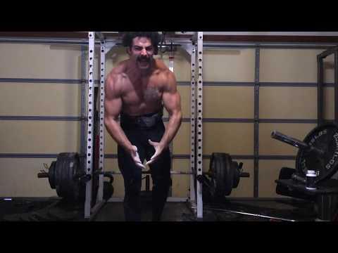 610 lb rack pull