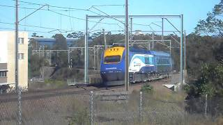 XP2006 leading the Casino bound XPT though Cardiff