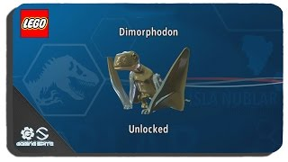Lego Jurassic World - How To Unlock Dimorphodon Dinosaur Character Location
