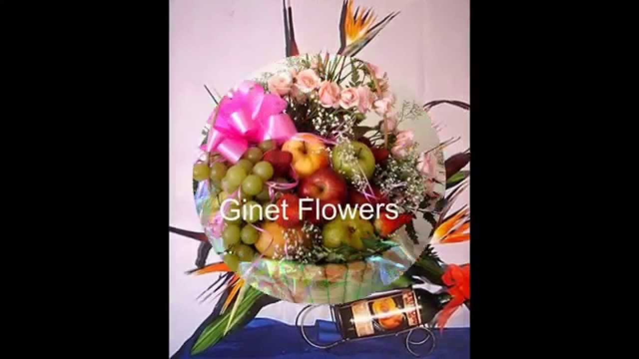 arreglos florales y frutas youtube - Arreglos Florales Modernos