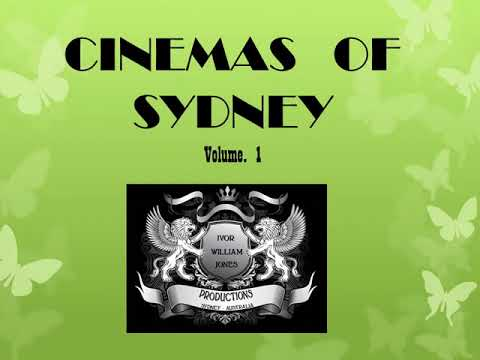 Cinemas Of Sydney Vol 1