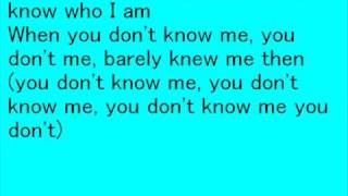 dont call me baby anymore with lyrics