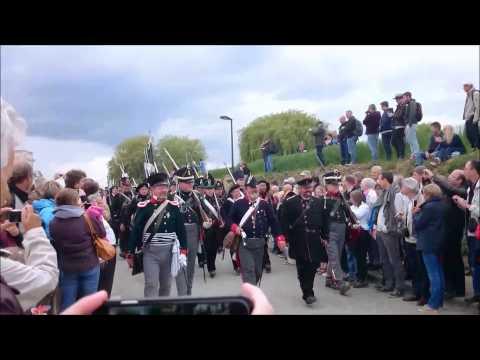 austrian grenadiers + prussian landwehr + deutch russiche legion