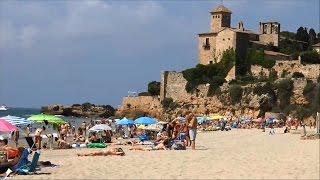 Playa de Tamarit ; Holidays ; Tarragona ; Chateau ; Spanish Beach ; Spain ; Espagne