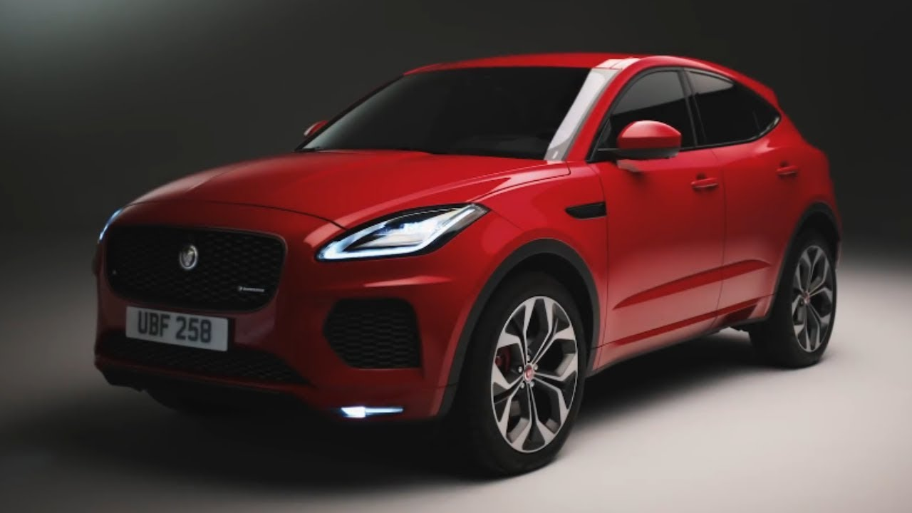 2020 Jaguar E Pace Luxury Compact Crossover Youtube