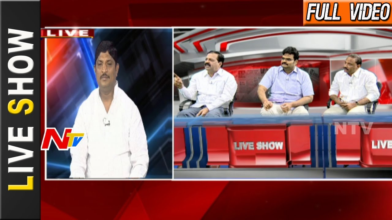 Khadi Logo Row: Will BJP Try to Replace Gandhi With Modi in India? || Live Show || NTV