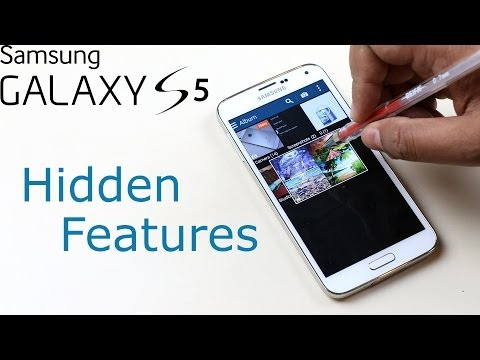 Galaxy S5 - Hidden Features (You might not know about)