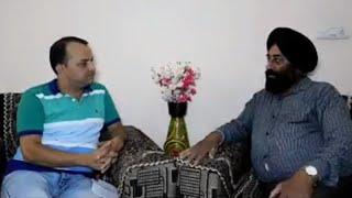 Famous writer.Harjinder bal interview by kimti bhagat