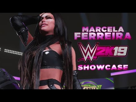 WWE 2K19  Marcela Ferreira Entrance & Showcase