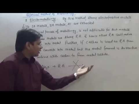 4  Metallurgy   Pyrometallurgy, electrometallurgy, Hydrometallurgy