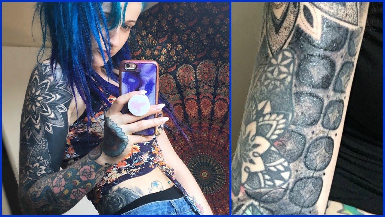 My Tattoo Artist RUINED My Skin!! - YouTube