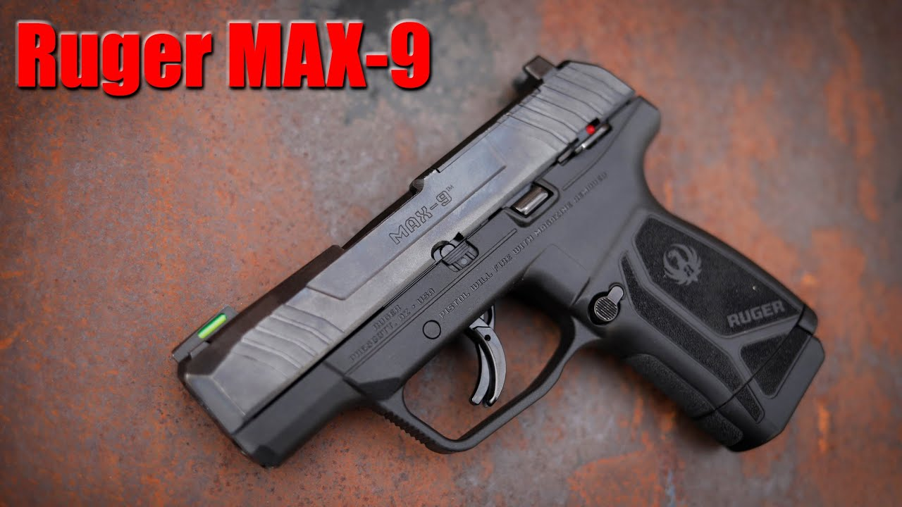 New Ruger Max 9 First Shots & Impressions (vs Shield Plus)