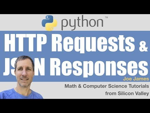 Python: Using Web APIs Tutorial | HTTP Requests