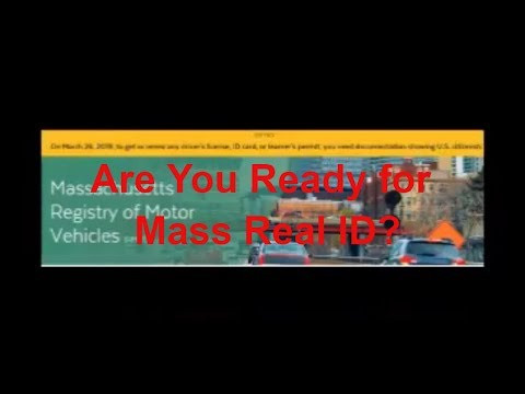 What you should know about the National Real ID Law in Massachusetts