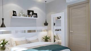 Small apartment INTERIOR DESIGN decor and selection in the style of LOFT