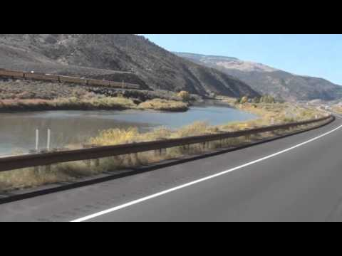 Union Pacific special east end of Glenwood Canyon, thru Dotsero Colorado part 2