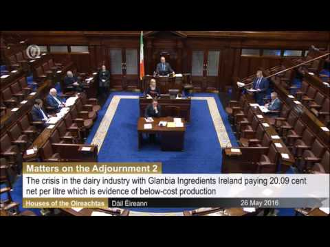 Michael Creed Minister for Agriculture's First Speech In The 33rd Dáil
