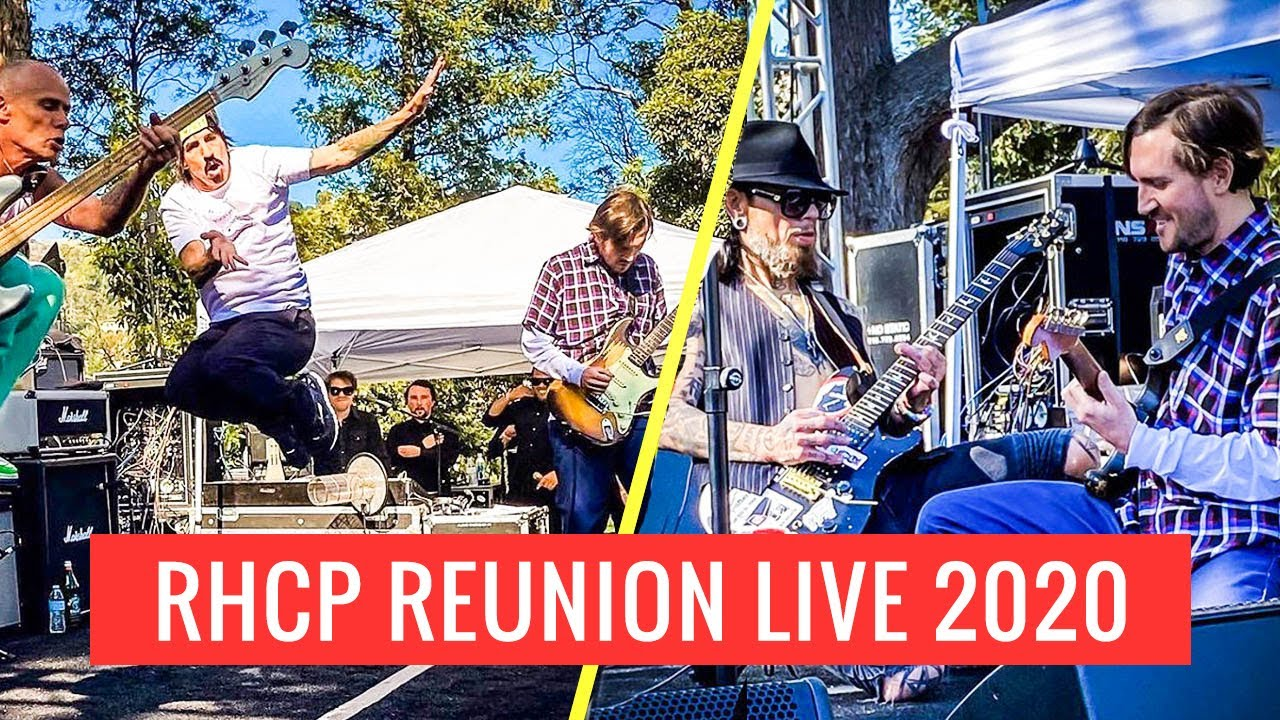 Red Hot Chili Peppers With John Frusciante Dave Navarro Full Version Instagram Live 2020 Youtube
