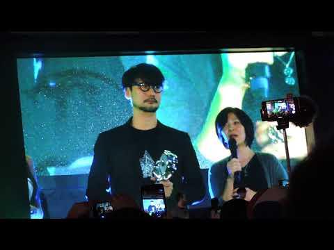 Painel de Hideo Kojima na BGS 2017
