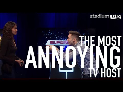 The Most Annoying TV Host | Prank You Very Much | Astro SuperSport