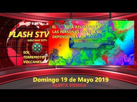 19/05 FLASH STV - Alerta Sísmica - El LSD, una ayuda contra el alcoholismo!