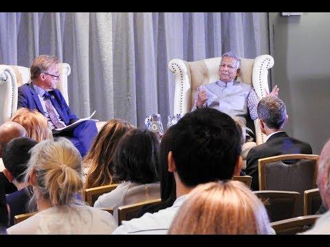 Professor Muhammad Yunus - A World of Three Zeroes public lecture