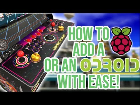 AtGames Legends Ultimate Arcade - Odroid Or Raspberry Pi Add Ons With Ease!