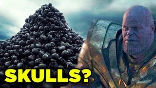 Thanos SKULL THRONE Avengers Endgame Deleted Scene Revealed!