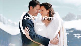 FILM DE MARIAGE //FRANCE// MONT BLANC // CHALET ALPEN VALLEY COMBLOUX