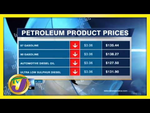 Jamaica's Gas Prices Decreases for First in 15 Weeks | TVJ Business Day