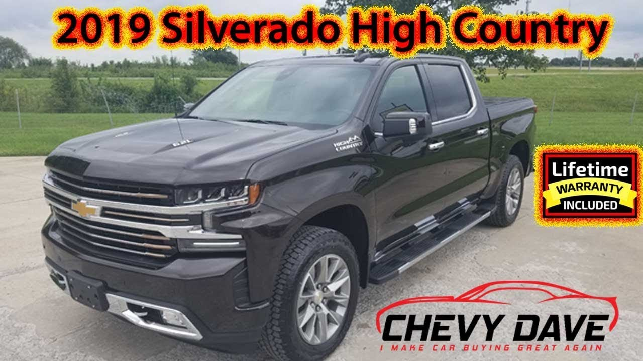 First look at the 2019 Chevrolet Silverado High Country ...