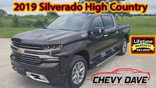First look at the 2019 Chevrolet Silverado High Country Havana Brown Metallic