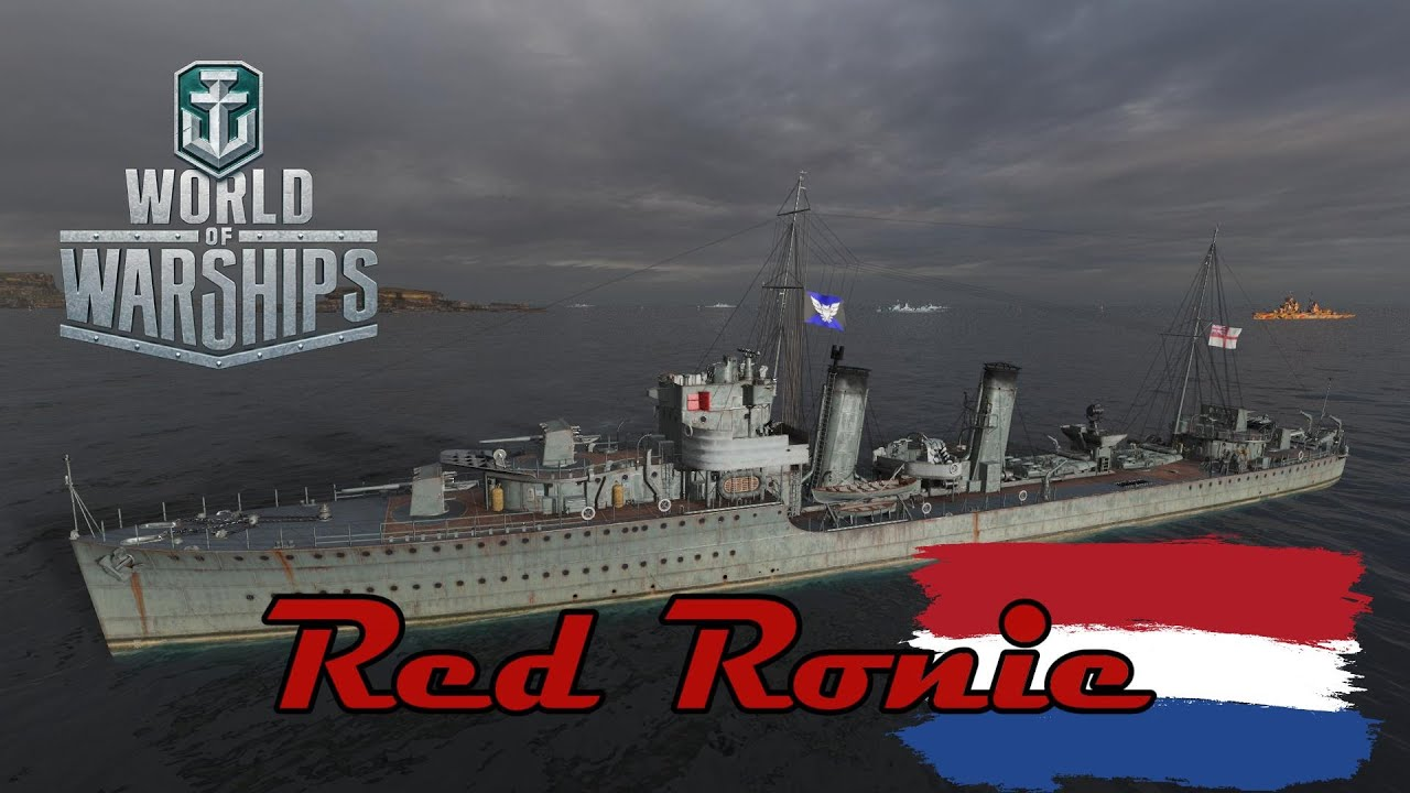 World of Warships - Red Ronie