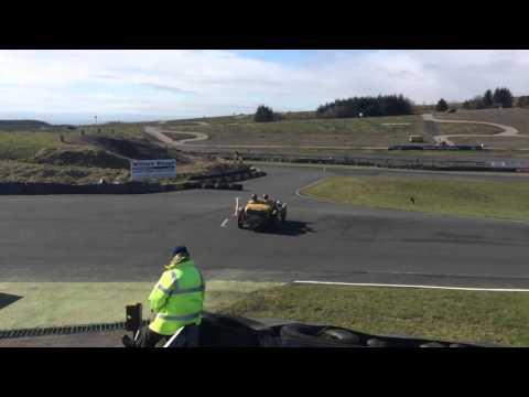 Alvis Speed 25 4.3 flying Scotsman rally 2016